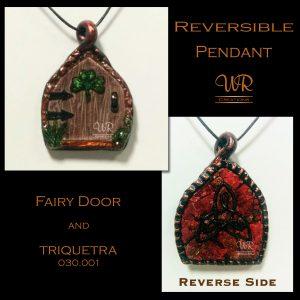 Fairy Door Reversible Pendant